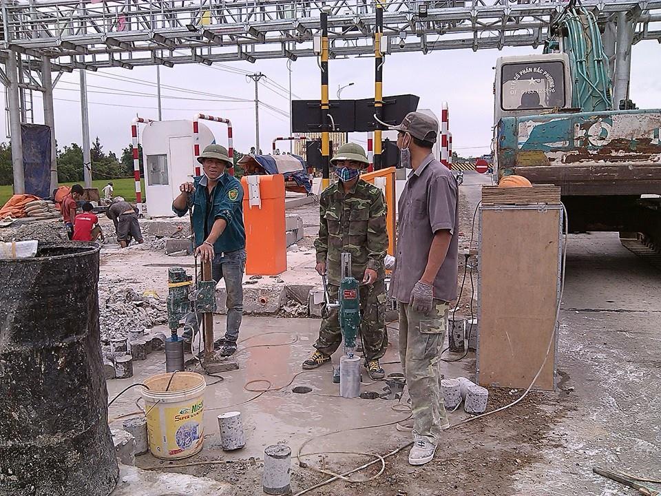 Công tyKhoan cắt bê tông Quận Tân Phú