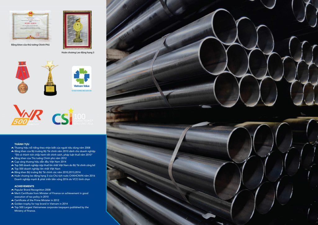 Thép ống mạ kẽm Việt Đức